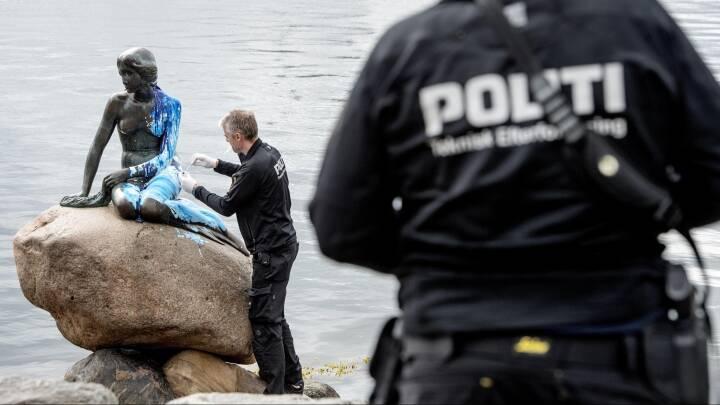 DF efter dobbelthærværk: Den Lille Havfrue skal videoovervåges