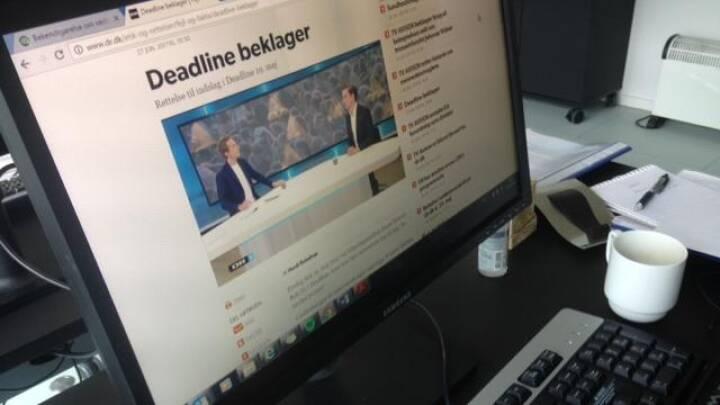 Deadline fejlciterede folketingsmedlem