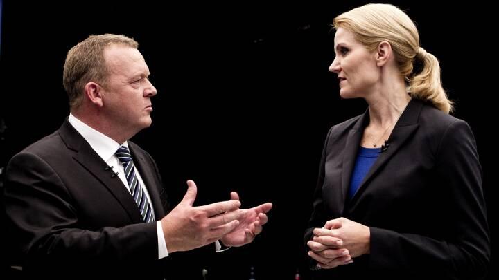 Løkke og Thorning revser kommentatorerne: Nu skal jeg ikke sige noget dårligt om dem, men...