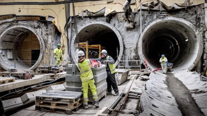 Orkester skal spille for metroarbejdere 20 meter under jorden