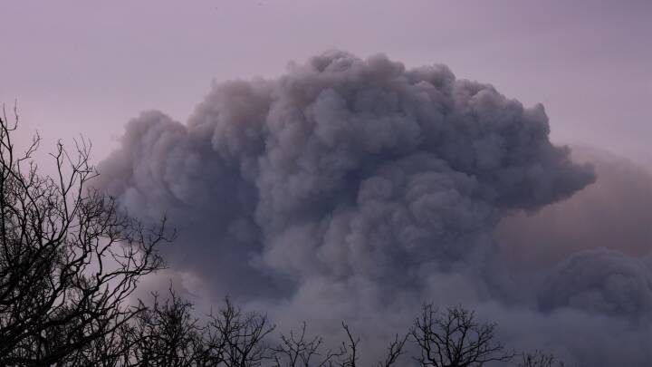 Borgere i Californien på flugt fra flammerne: 'Som en Schwarzenegger-film'