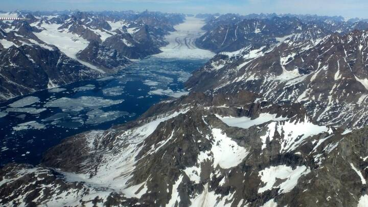 Ny viden: Gletsjere i Grønland smelter med rekordfart