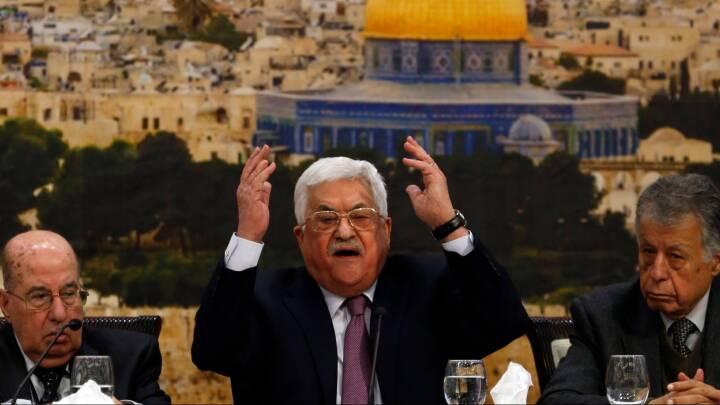 """Trump afpresser sig til fredsforhandlinger: Palæstinensere afviser """"politik med trusler"""""""