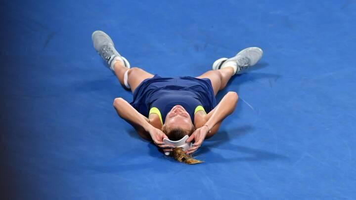 Wozniackis storebror hylder succesen: Hun har længe sukket efter en grand slam