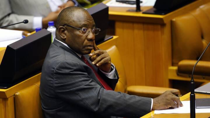 Ramaphosa bliver ny præsident i Sydafrika