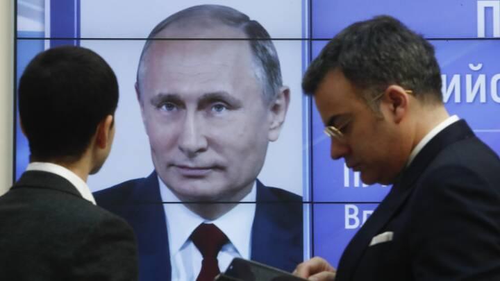 Valgobservatører om Ruslands præsidentvalg: Ikke tale om et egentligt valg