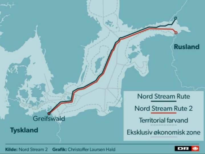 Kort Russisk Gasrorledning Skal Ga 1 200 Kilometer Gennem