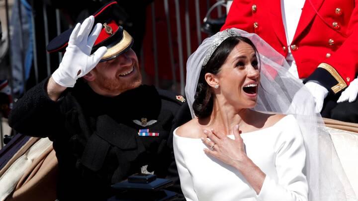 Seks millioner tweets om Harry og Meghans bryllupsdag