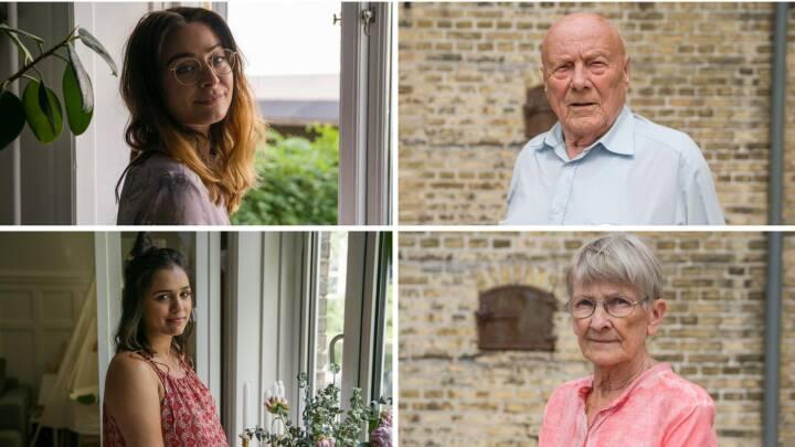 VIDEO Unge kvinder deler deres største bekymringer: Se 'de gamles' bedste råd til dem