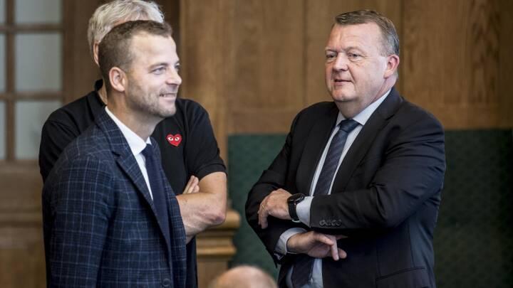 Radikalt bagland vil ikke pege på Løkke trods Mette F's enegang