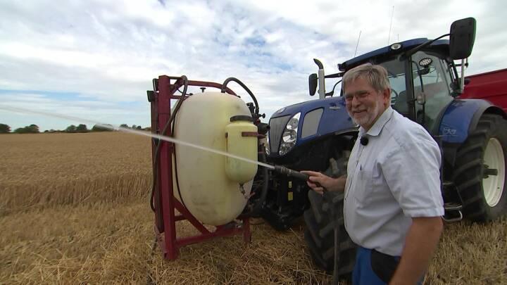 Landmand Laurits hjælper brandvæsnet: Bygger traktoren om til en brandbil