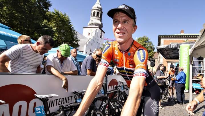 Chris Anker hyldet i afsked på Frederiksberg: 'Mine tøser var inde for at se far køre cykelløb'