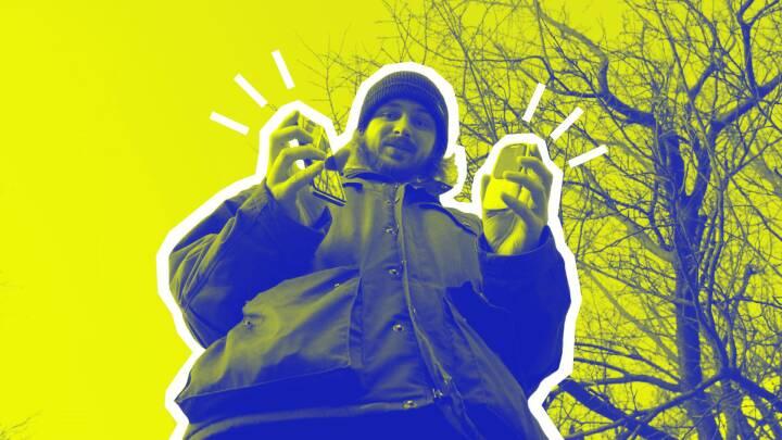Thoke droppede smartphonen: På kun en uge vænnede han sig af med 'fantomsmerterne'