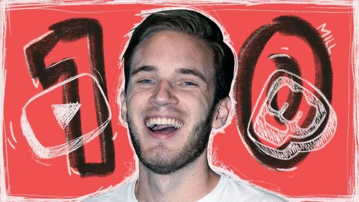 17 gange Danmarks befolkning: Nu har verdens største youtuber rundet 100 millioner følgere