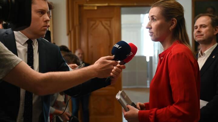 LIVE-TV: Regeringsforhandlinger i rød blok