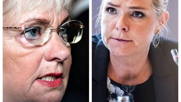 Støjberg og Kjærsgaard angriber Mette Frederiksen: 'Du begår løftebrud'