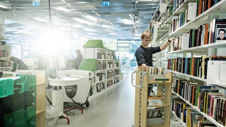 Sådan bruger du biblioteket, hvis du er usikker læser