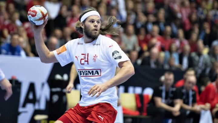 Mikkel Hansen døjer med hjernerystelse