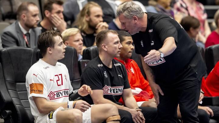 Landstræneren har sit at gruble over før EM-udtagelse: 'Spillerne skal holde formen'