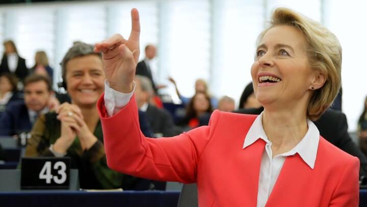 Efter hård kamp: Europa-Parlamentet godkender den nye Europa-Kommission