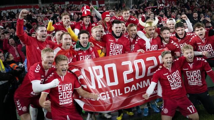 Super dansk EM-lodtrækning: Ønskemodstanderen Finland sidste hold i gruppen