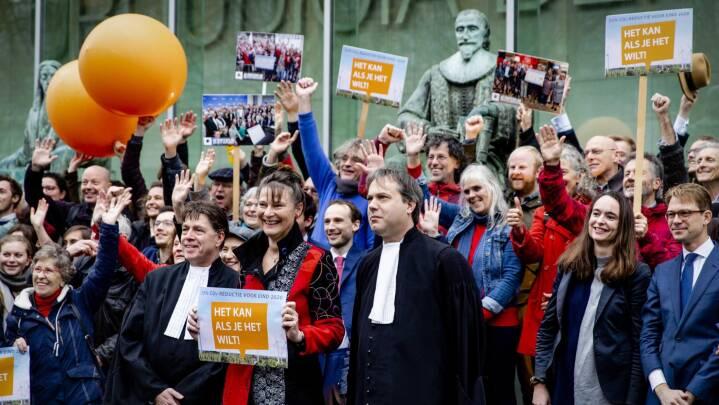 Klimaaktivister vinder retssag over Hollands regering