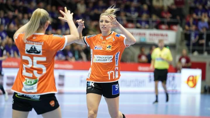 Skarpe Odense-kvinder leverer varen i EHF-cuppen efter kaotisk uge
