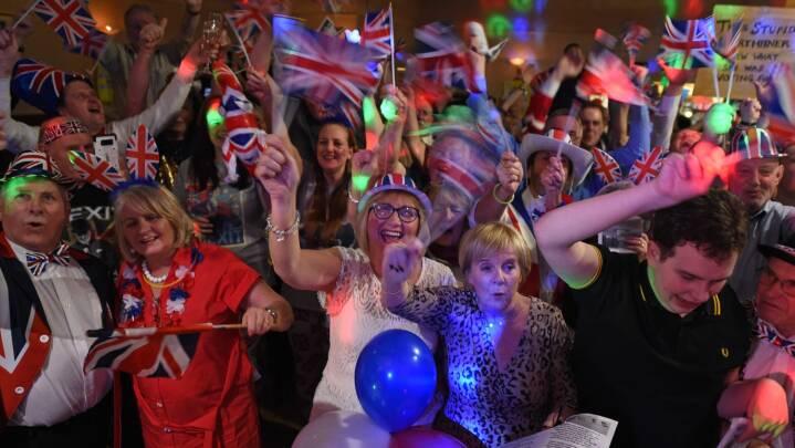 MINUT FOR MINUT Briterne har officielt forladt EU