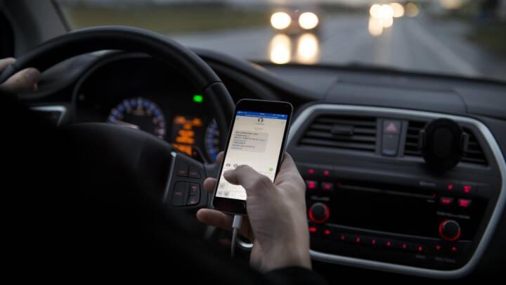 Klip i kørekortet virker: 21 procent færre sigtelser for håndholdt mobil