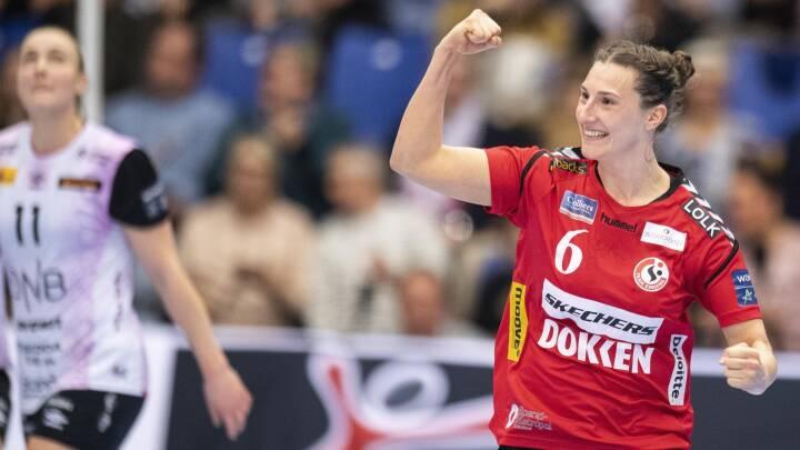 Team Esbjerg er i Champions League-kvartfinalen efter sejr