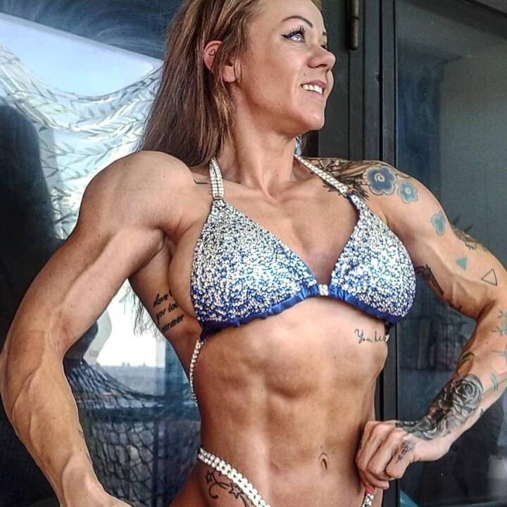 Bodybuilding kvindelig Kim Chizevsky
