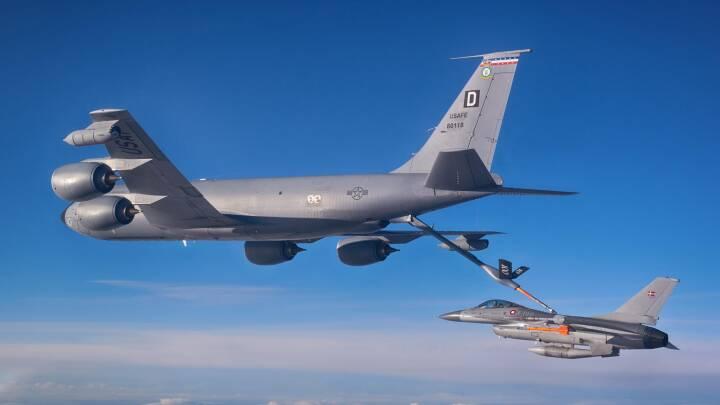 'Flyvende benzinstationer' skal lette fra støjplaget flyvestation