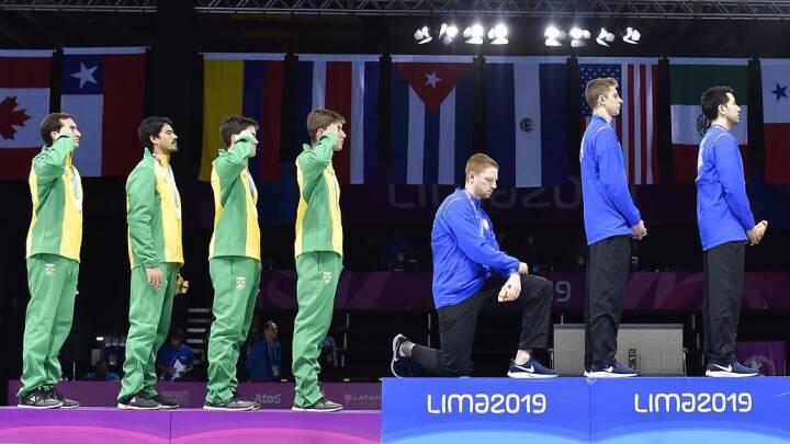 OL-atleter kan miste medaljer, hvis de knæler: 'Straffen er slet ikke rimelig'