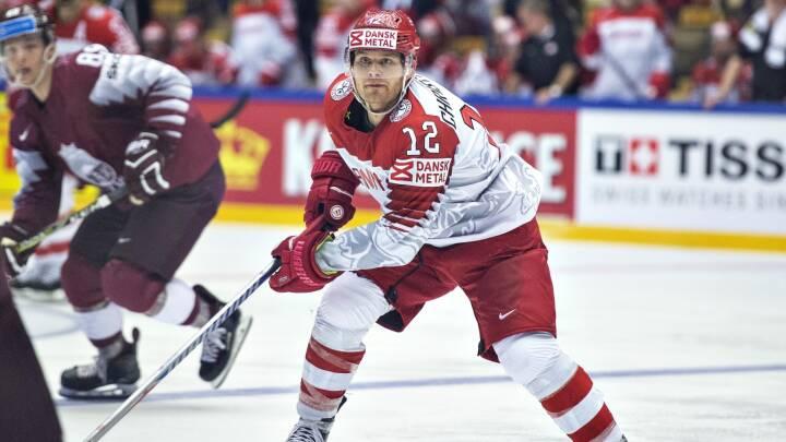 Danmarks mest vindende ishockeyspiller vender hjem til Herning Blue Fox