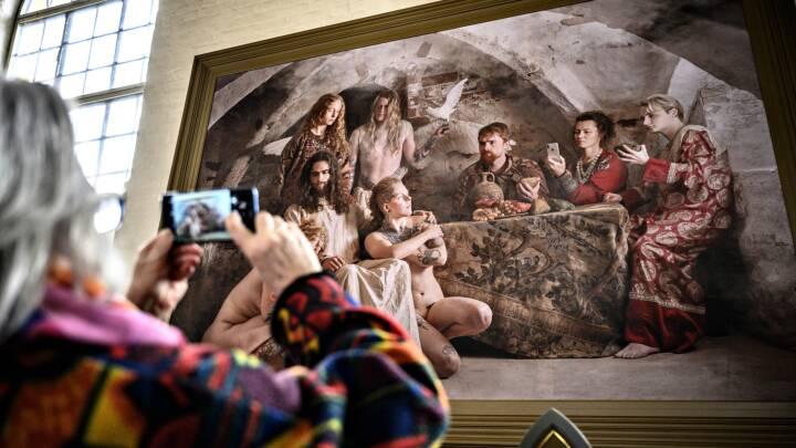 Jim Lyngvilds Kirkekunst Skal Ned Maske Ender Billederne I En Anden Kirke Indland Dr