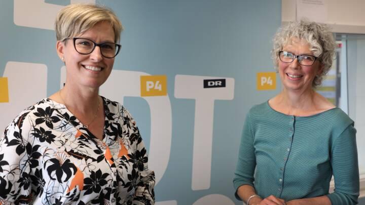 Mette og Ingrid gik på jagt efter levende stemmer