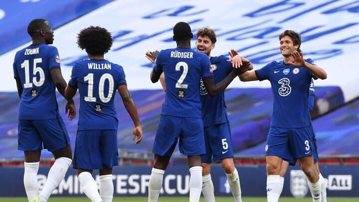 Chelsea udspiller Manchester United og booker finalebillet