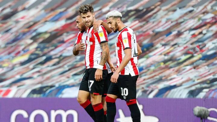 Brentford, Frank og danskerne sejrer: Et skridt tættere Premier League
