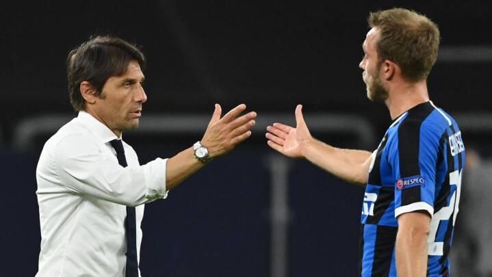 Inter-træner roser Eriksens indhop: 'Han er ved at tilpasse sig'