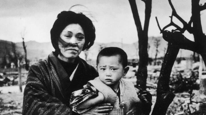 75 år efter Hiroshima og Nagasaki: Disse rystende fotos fortæller historien