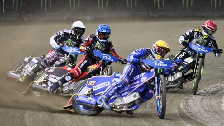 Leon Madsen slutter firer i speedwayfinale i VM-serien