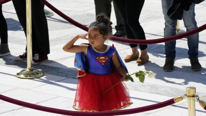 USA siger farvel til ikonisk højesteretsdommer