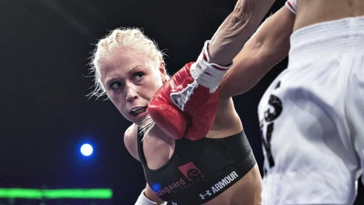 Dina Thorslund vil ikke sænke paraderne i VM-titelforsvar