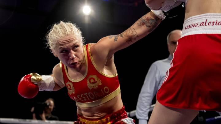 Hårdtslående Dina Thorslund forsvarer atter sin VM-titel