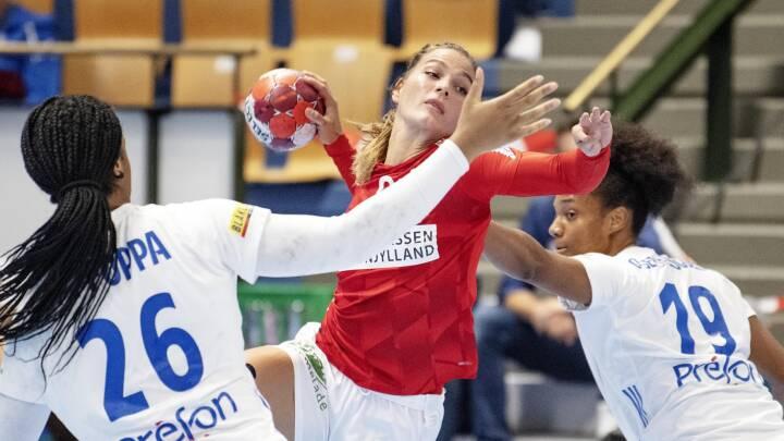 Danmark afslutter Golden League med nederlag til Frankrig