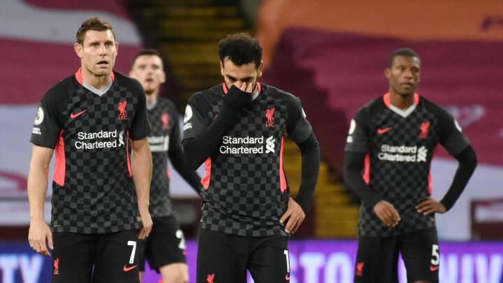 De engelske giganters ydmygende fald: United og Liverpool tabte hver med fem mål