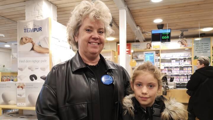 Lissi er hjerteopereret og går med afstandsbadge: 'Folk holder ikke afstand'