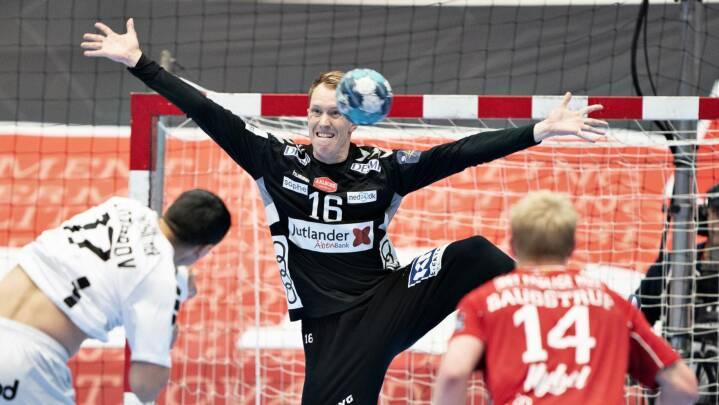 Aalborg-målmand rullede gardinet ned i ny nordjysk CL-sejr