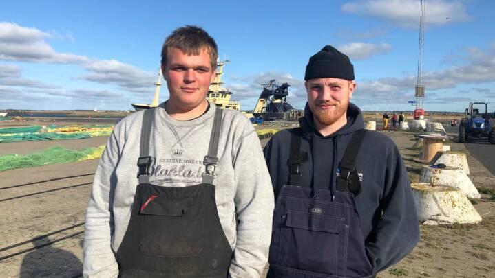 Fiskeriskole vokser: Mads og George drømmer om en fremtid som fiskere