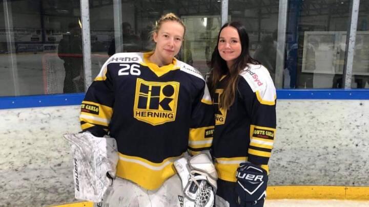 Herning bliver knust i ny kvindelig ishockeyrække: 'Det er for tidligt, at vi deltager'